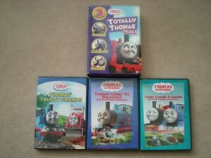 Thomas the Train set of 3 DVDs