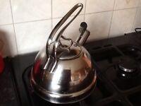 Copper base stove kettle