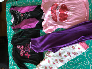 Baby girl size 5 clothing lot