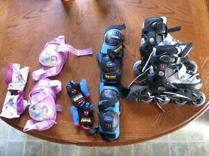 """Like New"" Schwinn set 1896 Challenge Series Inline Skates"