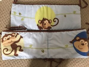 Monkey theme baby boy nursery lot Kitchener / Waterloo Kitchener Area image 5