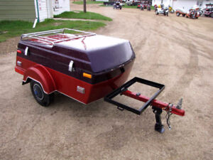 1986 Tiny Mite Motorcycle Tent Trailer