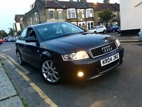 Audi A4 T 1.8 Turbo (163) (Ltd Edition) Sport FSH+1 F/OWNR+LW MILES+RARE CAR+TURBO+ AUX IN