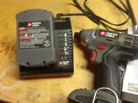 PORTER-CABLE 18V Li-Ion 1/4-in Cordless Impact Driver