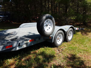 JDJ Car Trailer/Hauler - Loaded