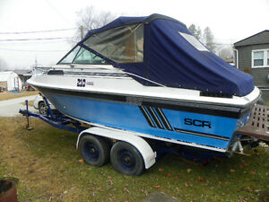 TRADE MY 21 BOAT FOR YOUR MUSCLE CAR/TRUCK