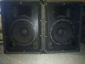 Band DJ recording PA sound system amp mixer speakers cables #1