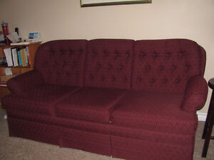 Condo size Couch and Loveseat