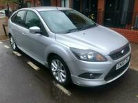 2010 Silver Focus 1.6 Zetec S 5 Dr Hatch 50K Superb Condition Bodykit And Alloys