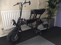 Di Blasi - Folding motorbike scooter. Rare sought after. Ideal for motorhome camping