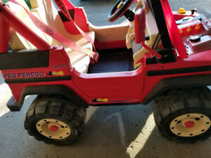Peg Perego Montana Jeep for kids. Please read the ad