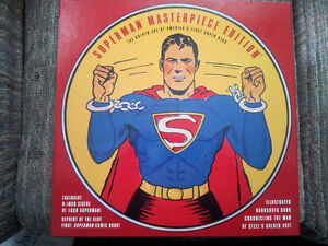 """SUPERMAN MASTERPIECE EDITION 8"""" Action Figure   - with 2  BOOKS"""