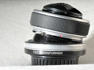 Lensbaby Composer with Tilt Transformer m4/3 micro four thirds