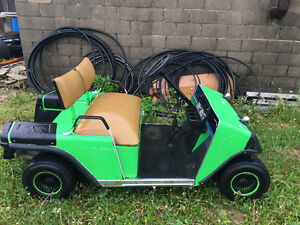 Runs great electric golf cart