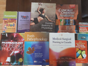 Nursing textbooks price reduced $150. 00 for the lot! Must go!