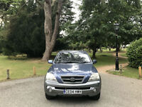 2004 Kia Sorento 2.5 CRDi XS 4x4 Turbo Diesel 5 Door Estate Blue