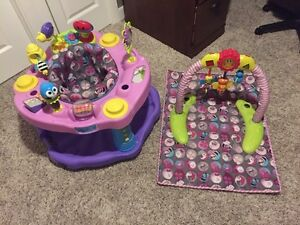 Double Fun Pink ExerSaucer