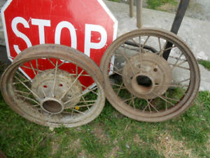 Roues Anciennes Ford Model A