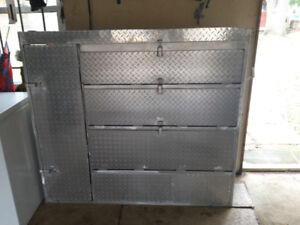 Ford Van Tool Shelves