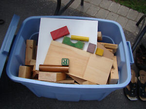 Building Blocks with tote