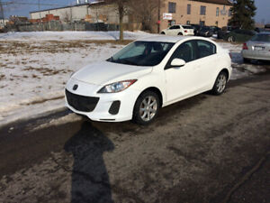2013 Mazda 3 with 105000km