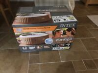Intex purespa hot tub brand new