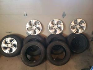 195 65 15 civic rims and tires