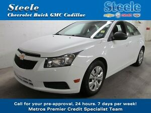 2013 Chevrolet CRUZE LS One Owner & Ready to Roll