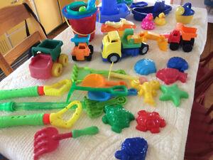 Beach and bath toys