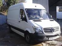 Mercedes-Benz Sprinter 313 MWB H/R EURO 5 DIESEL MANUAL WHITE (2015)