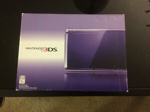 Original Nintendo 3DS - discontinued Midnight Purple