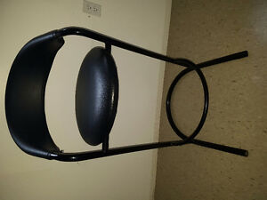 Black Leather bar chairs 20 dollars each or 3 for $50