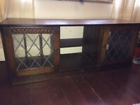 Quality Wood TV cabinet