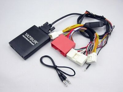 USB SD AUX IN Interface MP3 CD Changer Mazda 5 Type CW 2 Generation 2010-2011