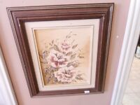 Various Quality Framed Prints and Art at the Carson Flea Market