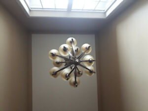 12 light foyer chandelier