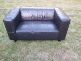 Sofa . Leather