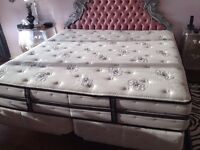 King Size Simmons Beauty Rest Black Collection, like New!