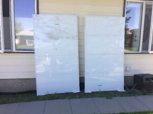 IKEA Pax wardrobe sliding glass doors