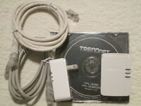Trendnet Powerline Computer/Smart /TV Network Adaptors
