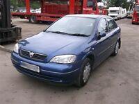 2002 Vauxhall Astra club1.6 long mot