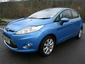 09/09 FORD FIESTA 1.4 TDCI ZETEC 5DR HATCH IN MET BLUE WITH SERVICE HISTORY