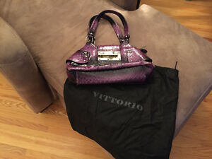 Vittorio Purple purse