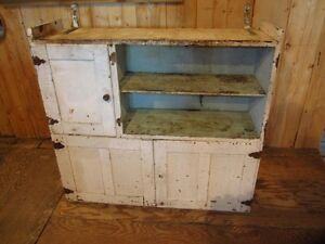 Antique Hutch Top