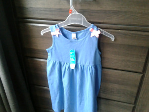 New girl's dress size 5T