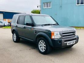 LAND ROVER DISCOVERY 3 2.7 TDV6 XS*2007(57) **COMMERCIAL**AIR CON**4X4**