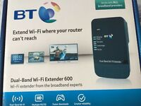 BT Dual Band Wi-Fi extender 600