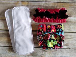 Ruffle Bum Cloth Diaper