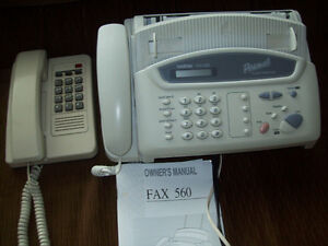 Brother 560 Fax Machine