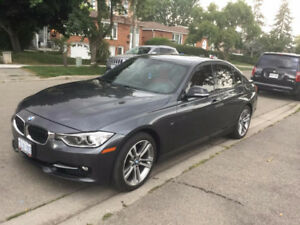 2013 BMW 328I X-DRIVE RED INTERIOR